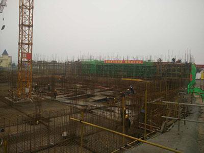 建筑工地施工